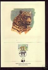 311+ FDC DOCUMENT 1er JOUR   BELIZE  LE  JAGUAR