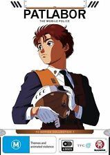 Patlabor The Mobile Police Collection 1 (Eps 1-24) BRAND NEW Region 4