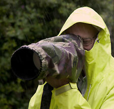 Rain cover fits Sigma 50-500 150-500 170-500 with any camera in camo