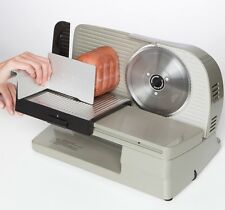 """Deli Meat Slicer For Home Use Electric Chefs Choice Luncheon Commercial 7"""" Blade"""