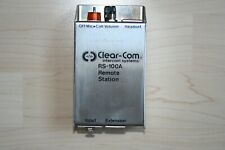 Clear-Com RS - 100A Intercom System Remote Station