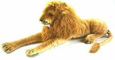 """Melissa & Doug Giant Plush 76"""" Jumbo Lion Stuffed Animal Over 6' Long Lifelike"""
