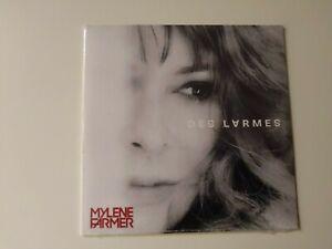 """MYLENE FARMER RARE CD PROMO MONOTITRE """"DES LARMES"""" NEUF SCELLE"""
