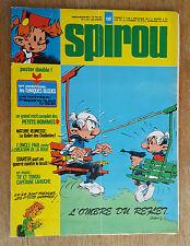 SPIROU N°1997 / DU 22 JUILLET 1976 / AVEC POSTER DOUBLE LES TUNIQUES BLEUES/ B+.