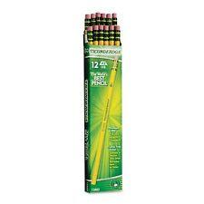 Dixon Ticonderoga Wood Pencils #2 HB Yellow Box of 12 Writing Comfort 13882