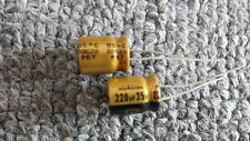JAPAN 11PCS Nichicon  FW 220uf 35V 220mfd Audio Capacitor for audio cap hifi diy