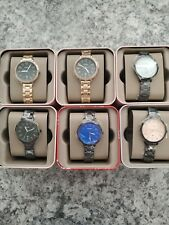 6 Fossil Custom Watch Lot Jacqueline New In Tins Womens Watches Wholesale Bulk