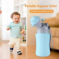 Baby Toddler Boy Kids Portable Urinal Travel Training Toilet Car Vehicular Potty