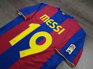 [Retro] - Barcelona Home 50th Anniversary 2006/07 with 19 MESSI Size M