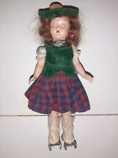 Vintage Doll Usa Roller Skates 50s  Dress toy ols