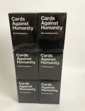 Cards Against Humanity With 1, 2,3,4,5,6 Expansion Cards