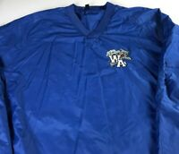 Wilcox Academy Windbreaker Jacket Mens 3XL Wildcats Student Alumni Lined Alabama