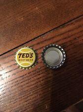 Ted's Root Beer Soda  Bottle Cap