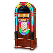 Crosley Digital Led Jukebox with Bluetooth - Walnut With Stand