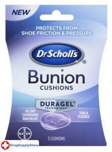 BL Dr. Scholls Bunion Cushions Duragel 5's - THREE PACK