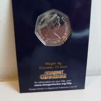 2021 Decimal Day 50p BU Coin Certified Pack Rare Machin Obverse See Comments.