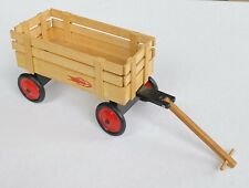 Vintage Dollhouse Miniature Museum Herb Buckingham Signed Wooden Toy Wagon