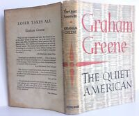 The Quiet American Graham Greene First Edition Original Dust Jacket 1955 1st Ed