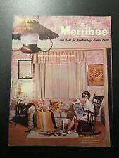 Merribee Fall Catalog Number 83 Creative Stitchery Crewel Rug Yarn Needlework
