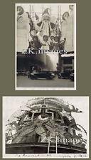 NOEL DECOR LUMIERE GRANDS MAGASINS Paris 2 Photos 1930s