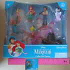 New Disney Princess Ariel Little Mermaid Collectible Figures 7 Pcs Cake Topper
