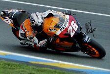 Dani Pedrosa Repsol Honda Moto GP Season 2007 Signed Photograph
