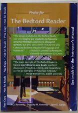 THE BEDFORD READER - X. J. KENNEDY, DOROTHY M. KENNEDY & JANE E. AARON - 2012 -