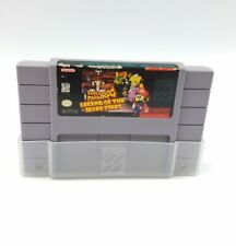 Genuine Super Mario RPG: Legend of the Seven Stars Super SNES Cleaned & Tested
