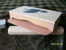 Doc'S Custom Scratch Box Turkey Call , Cedar, Hard Maple, Curl Maple