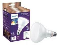 Philips LED Full Color Wi-Fi WIZ Connected Smart Dimmable Light bulb 65W BR30
