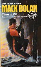 Executioner #108: Time to Kill - PB 1987 - Don Pendleton - Mack Bolan