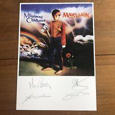 MARILLION  - Misplaced childhood Autographed Print