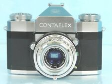 Vtg~ZEISS ICON CONTRAFLEX SYNCHRO-COMPUR 35mm Camera Carl Zeiss Tessar 50mmF1:28