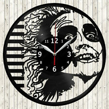 Beetlejuice Vinyl Record Wall Clock Decor Handmade 7020