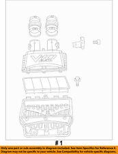 Dodge CHRYSLER OEM 15-16 Viper Air Inlet-Air Cleaner Housing/Box Assy 5037935AC