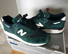 Made in USA New Balance 998 M998CHI Concepts 9.5 green navy red white  1500 997