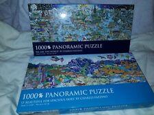 Charles Fazzino Panoramic Puzzles 1000 Lot