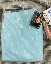 Dickies Scrubs Women Flare Cargo Pants Elastic 53202 Flare Standard Fit Blue XL