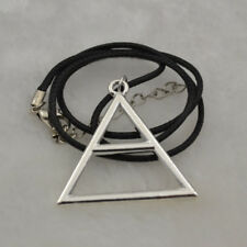 2pc x 30 Seconds To Mars Triad Silver Triangle Jared Echelon Necklace Pendant