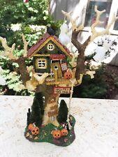 Dept 56 Snow Village Halloween Haunted Tree House Accessory