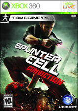 Tom Clancy's Splinter Cell: Conviction (Xbox 360, 2010), complete,fast shipping
