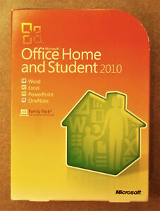 Microsoft Office Home and Student 2010 Software for Windows (79G-01900)
