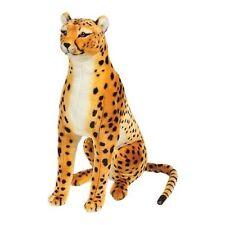 Giant Cheetah Lifelike Stuffed Animal Toy Kids Plush Toddler Cuddly Soft Decor