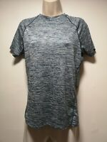 HIND Running / Hydra Blue / White Short Sleeve T-Shirt - Size M (409)