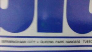 Birmingham City v Queens Park Rangers - 23 April 1974