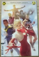 Legion of Super Heroes #4 Comic - Alex Garner Variant Cover