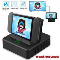 Dock Plastic Cooler TV Switch HDMI Converter ChargingDock Station Stand