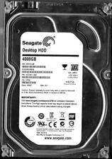 SEAGATE ST4000DM000 4TB SATA HARD DRIVE P/N: 1F2168-568 S/N: S30  SU