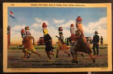 Mint USA PPC Picture Postcard Native American Indian Papago Olla Race Rodeo Cele
