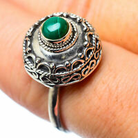 Malachite 925 Sterling Silver Ring Size 8.25 Ana Co Jewelry R27305F